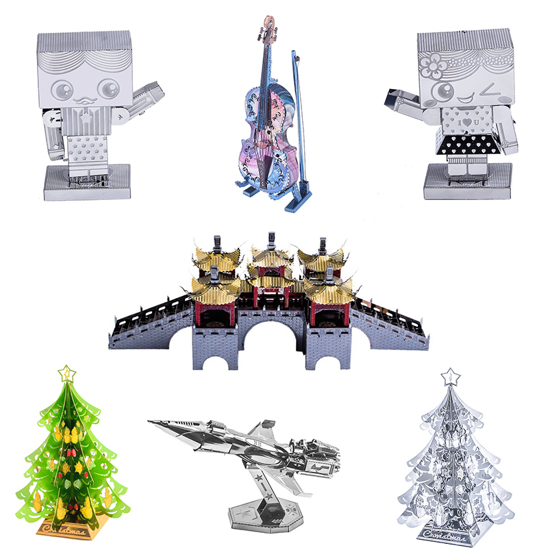 Jigsaw Puzzle 3D Metal Puzzle Model Adult Puzzle Model Kit  DIY Toy Puzzle Manual Model Collection Education Gift Decorative