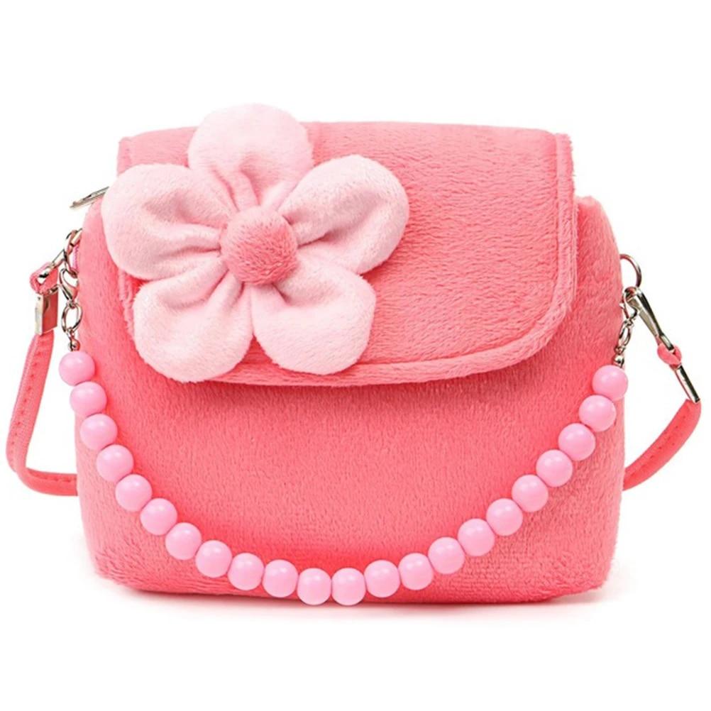 Kids crossbody purse  shoulder bag  handbag  messenger bag Cherry