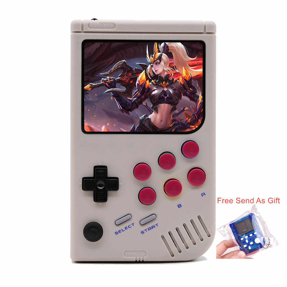 3 5 inch LCL Pi Handheld Arcade Retro Video Game Console For