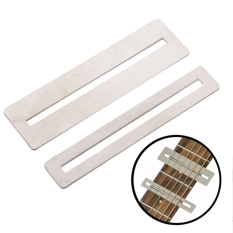 2Pcs Guitar Fret Wire Sanding Stone Protector Kit Finger Plate Radian Polishing DIY Luthier Tool Guitar Bass Parts & Accessories