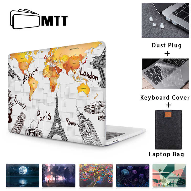 Mtt Laptop Case Voor Macbook Pro Air 11 12 13 15 16 Inch 2020 Cover Voor Apple Macbook Pro 13 Funda Coque A2289 a2251 A2179 A1466