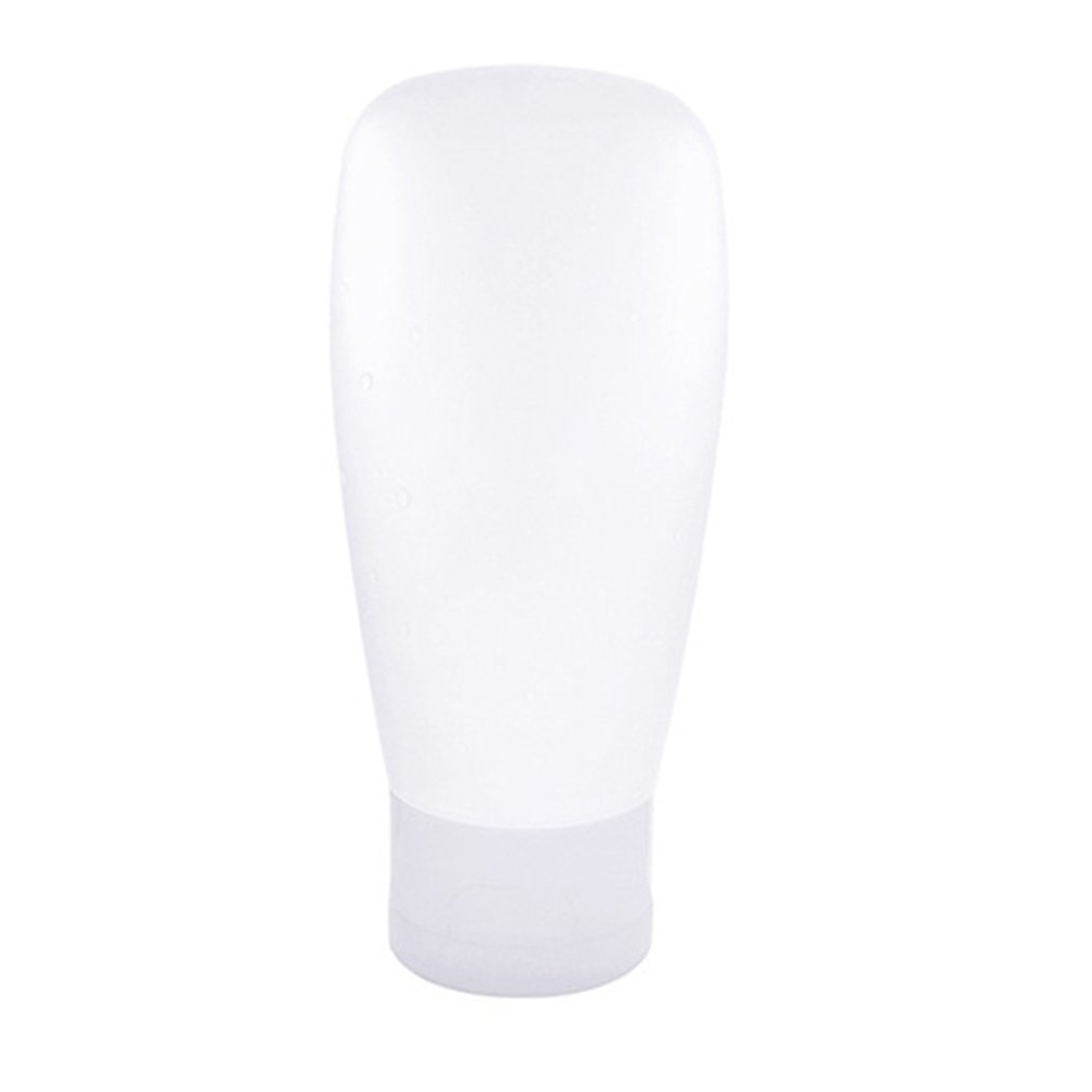 Portable Flexible Easy To Squeeze Silicone Travel Bottle Facial Cleanser Shampoo Bath Bottles Container Leak-proof