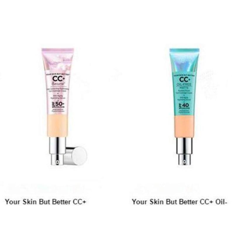 Face Makeup CC Cream Your Skin But Better CC+ Cream Oil Free Matte Poreless Finish Full Coverage Hydrating 32ml