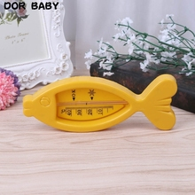 Water Thermometer Baby Bathing Fish Shape Temperature Infant Toddler Shower Toys 54DA