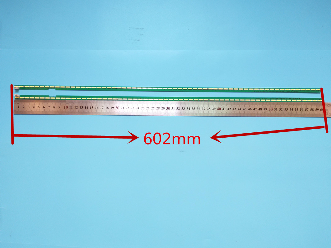 Novo kit 2 pces 60led 602 milímetros tira conduzida luz de fundo led para lg 5uf6450 5uh6150 55uf6430 6916l2318a 6916l2319a 6922l-0159a lc550ege