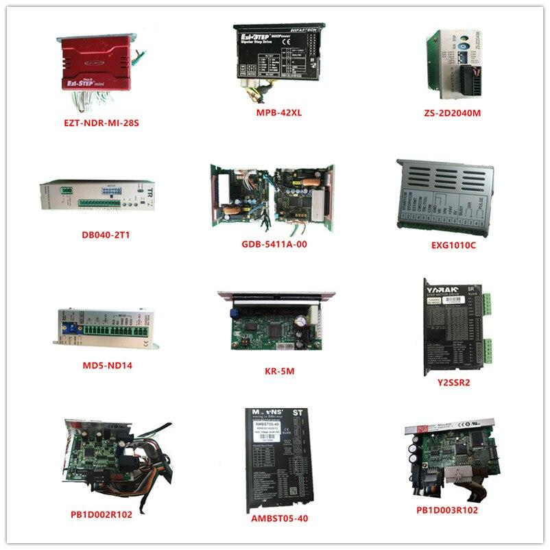 Used EZT-NDR-MI-28S MPB-42XL ZS-2D2040M DB040-2T1 GDB-5411A-00 EXG1010C MD5-ND14 KR-5M Y2SSR2 PB1D002R102 AMBST05-40 PB1D003R102