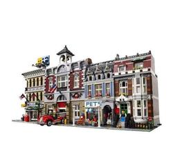 Dropshipping Model Building Block Bricks Toy Compatible with Creators City Street House 15001 15002 15003 15004 15005 15006