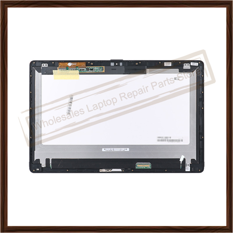Original 15.6'' LCD touch Screen For Sony Vaio SVF15N VVX16T020G00 2880*1620 Laptop LCD Dispaly Digitizer Assembly with frame