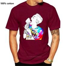 Print T Shirts Men Miley Cyrus Ice Cream - White Mens Womens T-shirt - Fashion Hipster Music Gift