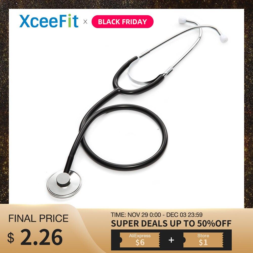 Portable Single Head Stethoscope Professional Cardiology Stethoscope Doctor Medical Equipment Student Vet Nurse Medical Device