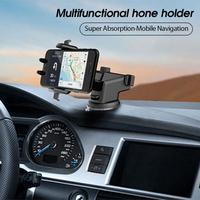 Soporte Universal de teléfono para coche, montaje de 360 ° para parabrisas de coche, para IPhone, Samsung, teléfono móvil, GPS