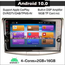 Xe Hơi 3125 Stereo Cho VW Passat B6 B7 CC 2008 2015 DAB + OBD DVD Android 10.0 DSP Carplay định Vị GPS Đài Phát Thanh Autoradio Xe Người Chơi 2 DIN
