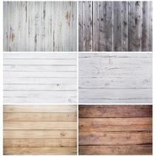 Fotograficzne tło białe drewniane szerokie na ścianę, winyl tkaniny Photobooth dla Photo Studio dla dzieci dla dzieci Photophone zdjęcie z kamery