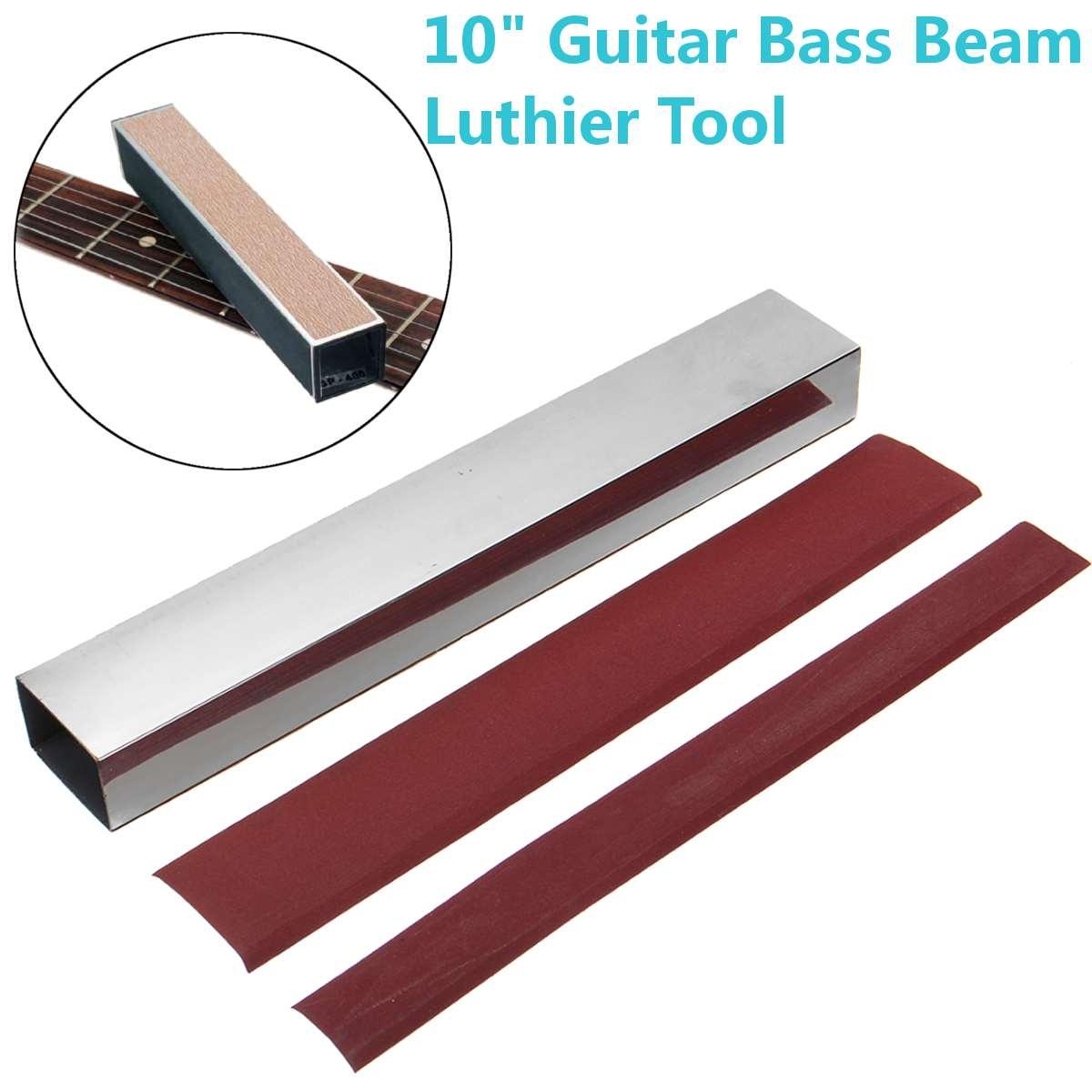 Guitar Bass Neck Sanding Tool Guitar Fret Leveler Leveling Aluminum Alloy Beam Luthier Tools Sandpaper Guitar Parts Accessories|Guitar Parts & Accessories|   - AliExpress