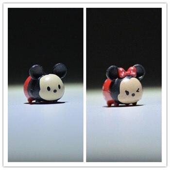 50 Teile/los 2cm Super kleine größe Disney Mini Mickey Minnie maus diele ornamente DIY ornamente