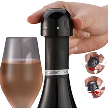 1/2/3pcs Vacuum Red Wine Bottle Cap Stopper Silicone Sealed Champagne Bottle Stopper Vacuum Retain Freshness Wine Plug Bar Tools