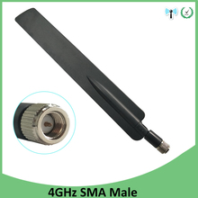 10pcs 4G lte antenna 5dbi SMA Male Connector Plug antenne for huawei b593 4G LTE router external repeater wireless modem antenna set of unlock huawei b315 huawei 4g portable wireless router huawei b315s 22 lte wifi router 49dbi 4g sma antenna