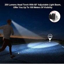 Новый Водонепроницаемый XPE светодиодный + 2xcob белый + красный светодиодный световой фонарь головная лампа Перезаряжаемые фонарик