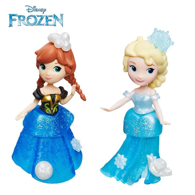 Disney Congelado Snow Queen Elsa Anna Kristoff Olaf Modelo