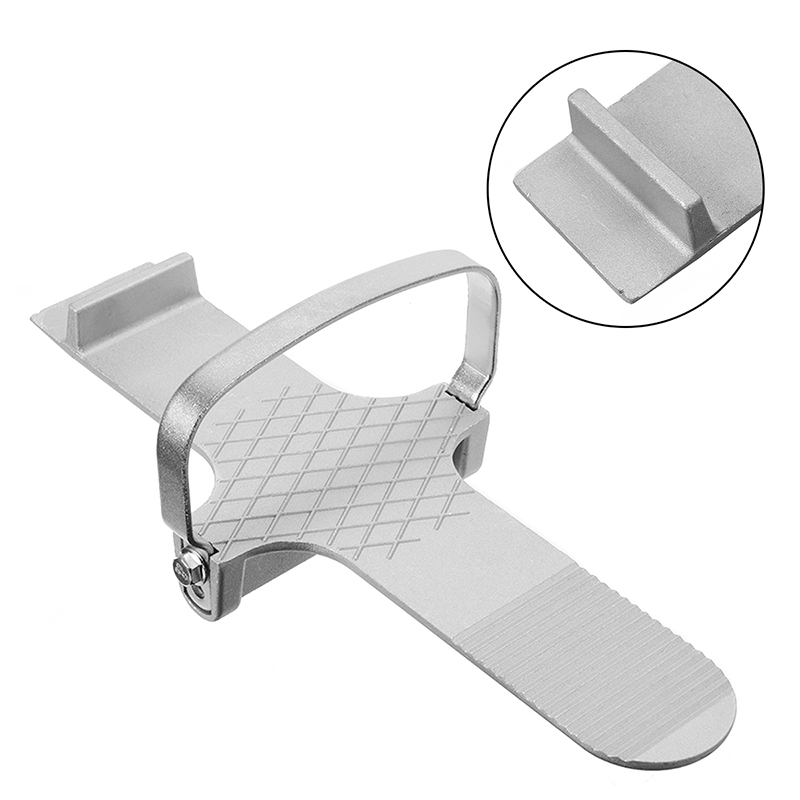 30cm Aluminium Door & Board Foot Lifter Hands-free Lifting Drywall Plaster Sheet Operated Moving Fitting Tool Convenience
