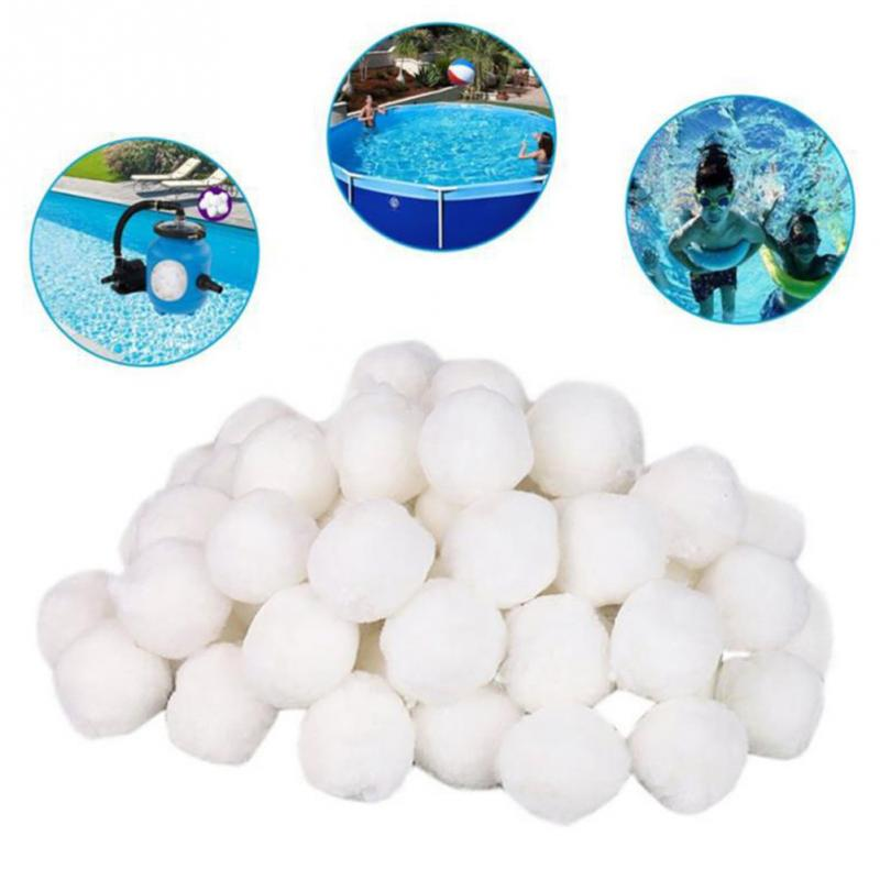 Swimming Pool Cleaning Equipment Dedicated Fine Filter Fiber Ball Filter Light Weight High Strength Durable Clean The Pool