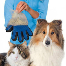 New Cat Simple Grooming Glove for Cats Wool Glove Pet Hair Deshedding Brush Comb Glove