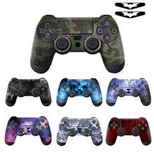 PVC özel yapışkan için PS4 Gempad cilt Playstation 4 Dualshock denetleyicisi için ps4 denetleyici vinil çıkartma