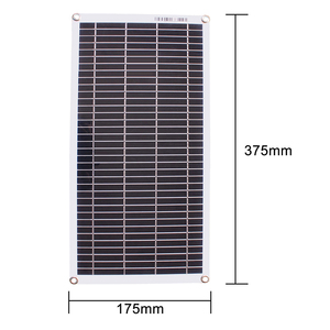Image 5 - Semi flexible 10W 18V Portable Solar Panel with DC 5521 Cable For 12V Car
