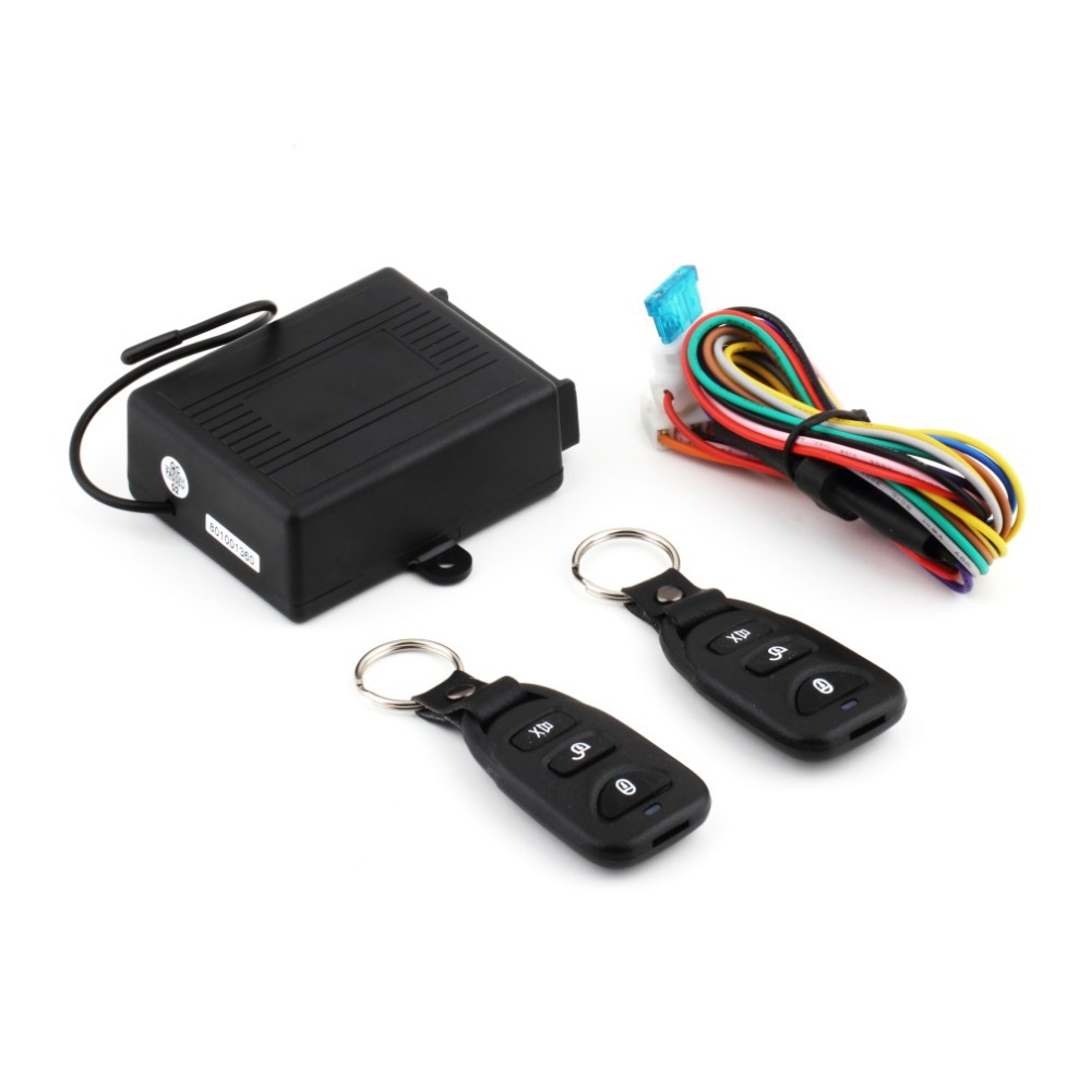 New Car Auto Remote Central Kit Door Lock Locking Vehicle Keyless Entry System With Remote Controllers Car-styling Hot Selling