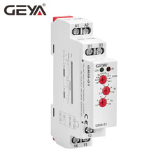 Free Shipping GEYA GRI8-01 Current Monitoring Relay Range 8A 16A AC24V-240V DC24V Overcurrent Protection