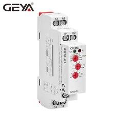 цена на Free Shipping GEYA GRI8-01 Current Monitoring Relay Current Range 8A 16A AC24V-240V DC24V Overcurrent Protection Relay