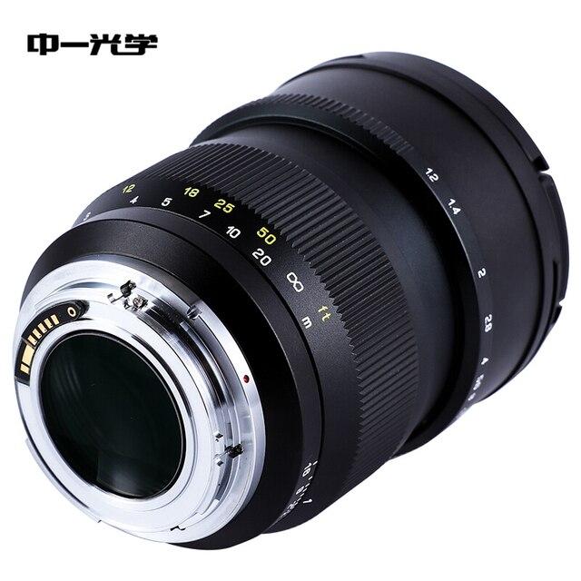 Zhongyi lens Speedmaster 85 мм f/1,2 для sony E canon EF nikon F Fuji GFX XF mount body A7R3 A7R4 5D3 5D4 Full frame
