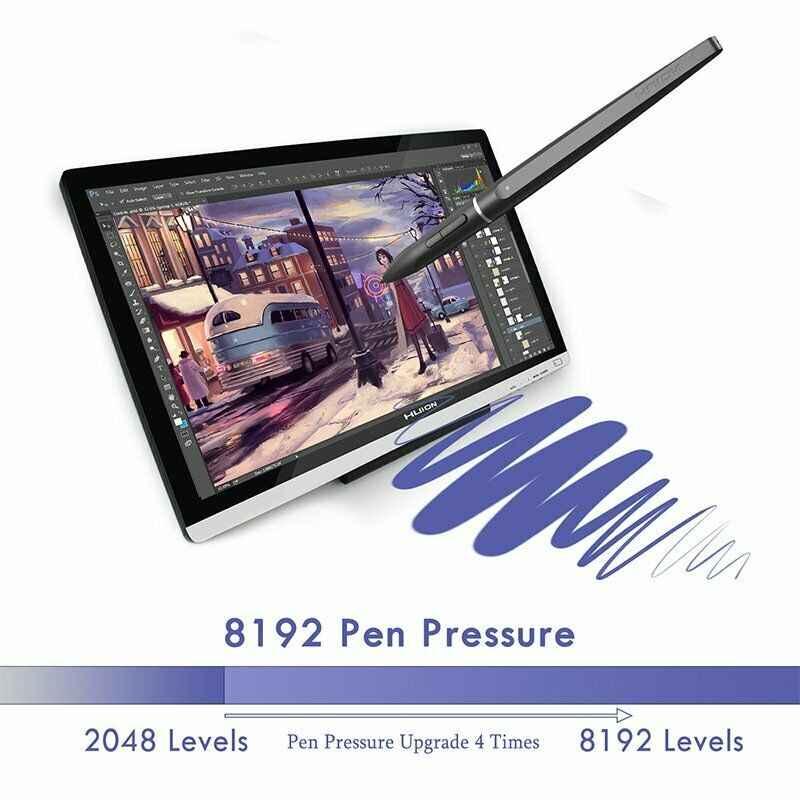 """Huion GT220 v2 tablette graphique professionnel dessin moniteur 21.5 """"HD IPS stylo affichage 8192 stylo pression Art Animation avec cadeaux"""