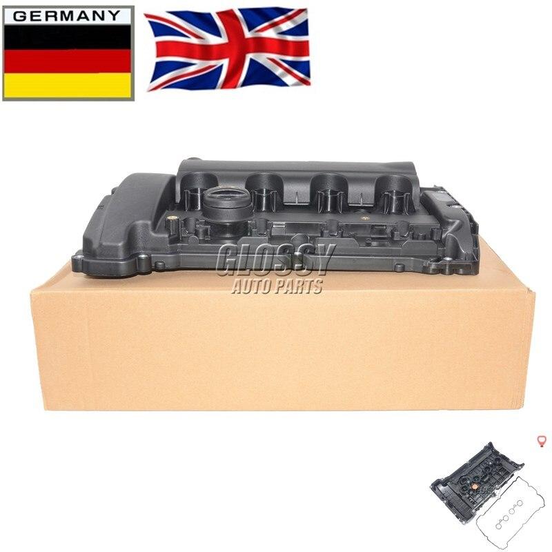 AP02 ฝาครอบวาล์วใหม่และปะเก็นสำหรับ Citroen C4 Peugeot 308 CC RCZ 1.6 V759886280 0248 Q2