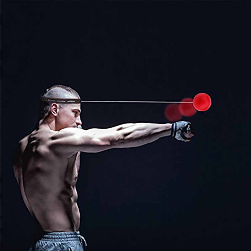 2019 New Boxing Punch Exercise Fight Ball React Reflex Ball Hott Portable Fitness Equipment Training ball Gift For friend 6