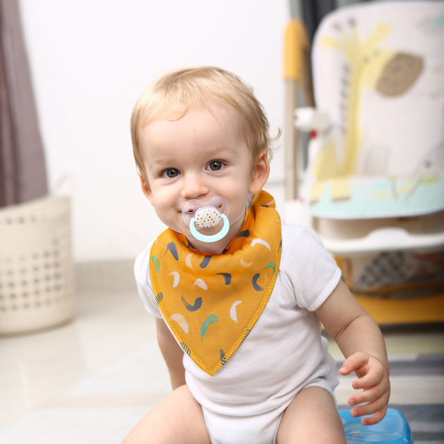 1 PCS Baby Bandana Bibs Upsimples Baby Girl Bibs for Drooling and Teething 100% Organic Cotton and Super Absorbent Hypoallergen Accessories Infant (3-12 months) Regular Bibs & Bandanas Shop by Age Toddler (1-3 years)