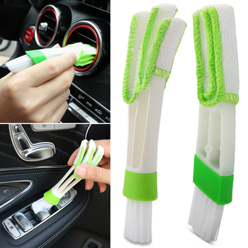 Car Cleaning Brush Air-Conditioner Outlet Dust Brush For fiat punto doblo 500 500x Panda Bravo Linea Croma 595 abarth image