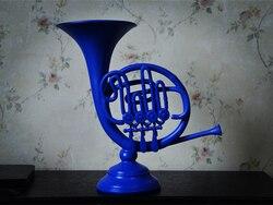 Новый, как я встретил вашу маму, синий французский рог, смола, домашний стол, подарок