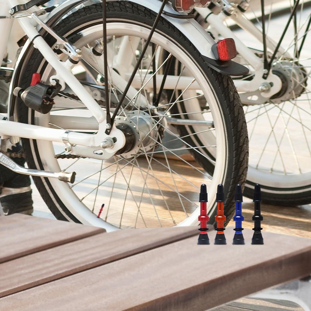 2 Pcs//set Tubeless Presta Valve Stems Cycling Bicycle MTB Bike Tyre Extenders