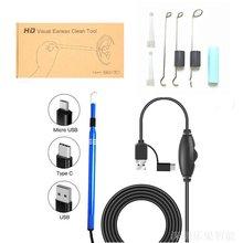 3 в 1 многофункциональный usb инструмент для чистки ушей