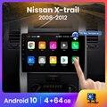 Автомагнитола AWESAFE PX9 для Nissan, мультимедийный видеоплеер на Android 2007, 2 Гб ОЗУ, 32 Гб ПЗУ, с GPS, для Nissan X-Trail 2, T31, XTrail 10,0-2015, типоразмер 2 din