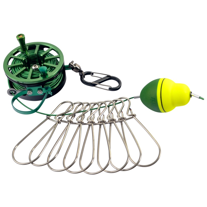 carretel de pesca bloqueio fivela com carretel 03
