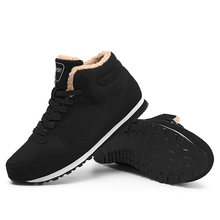 2019 Lederen Enkel Mannen Schoenen Mode Winter Warm Mannen Laarzen Waterdichte Sneakers Mannen Schoeisel Chaussure Plus Size 38-47 HX-005(China)