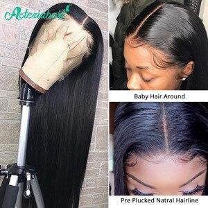 Asteria 13x6 парик из человеческих волос для чернокожих женщин 180% 250% плотность Remy