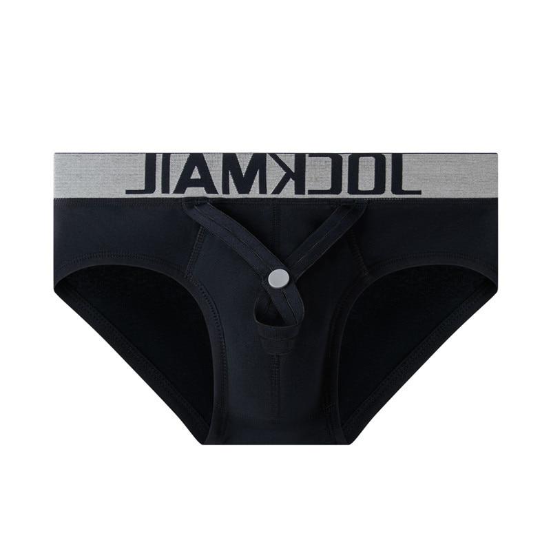 Cotton Briefs Sexy Men Underwear U Convex Pouch Panties Adjustable Ring Cockstraps hombre Slips Shorts Underpants