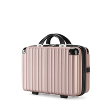 New Design 16 Inch Suitcase For Women For Travelling Cute Fashion Mini Luggage For Portable Cosmetic Case  luxury luggage