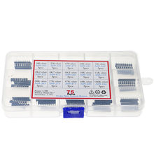 75pcs/Box 15 Types Network Resistor Assorted Pack Kit 1 x 9pin A09-101 221 471 681 102 222 472 682 103 153 203 273 473 683 104