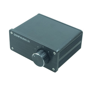 Image 3 - 4 (1) 1(4)OUT 4 WAY อินพุตเสียง RCA สายตัวเลือก Splitter Switcher สวิทช์ schalter แหล่งตัวเชื่อมต่อผู้จัดจำหน่ายกล่อง