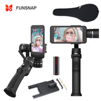 Funsnap Capture 3 Axis Handheld Gimbal Stabilizer Face tracking Motorized Steadycam for iPhone X Samsung S8 Huawei P20 Pro