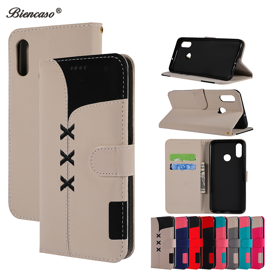 Cute Flip Wallet Phone Case For Samsung Galaxy S10 E S9 Plus S8 A3 2017 A320 A6 A8 A9 J4 Plus J6 A50 A40 A20 A30 Card Slot Cover